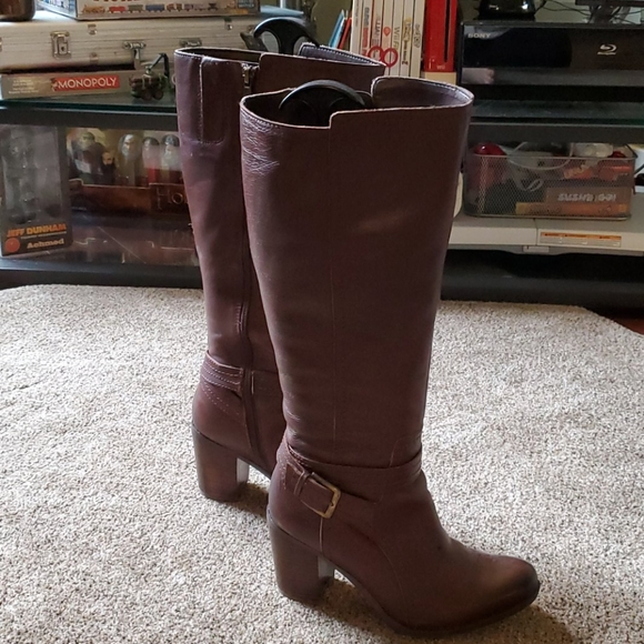 Naturalizer Kelsey Wide Calf knee-high boots